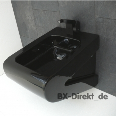 schwarzes Bidet LaFontana schwarz Designerbidet von Art Ceram