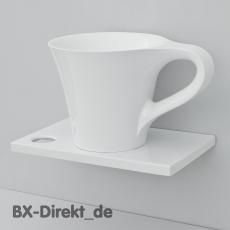 CUP Waschtisch im Design einer Tasse als Aufsatz Waschbecken - Die Kaffeetasse aus Italien