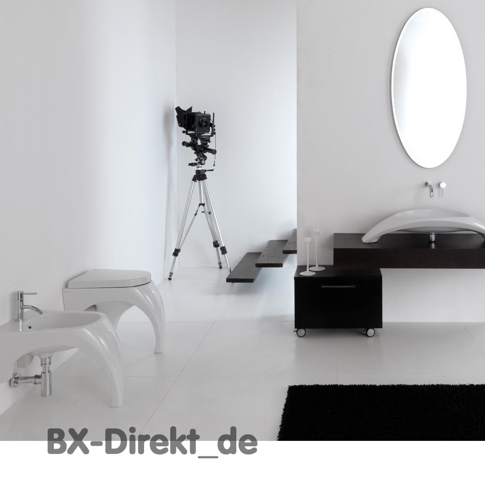 Badkeramik De.White Carisma Bidet Floor Standing Italian Design By Meridiana