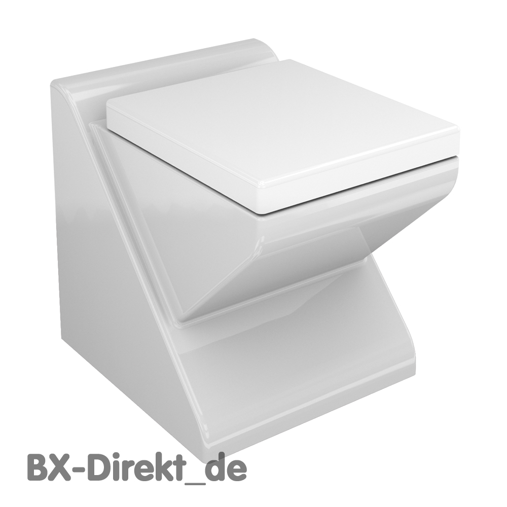 italienisches wc exklusiv und modern im backstreet design toilette klo. Black Bedroom Furniture Sets. Home Design Ideas