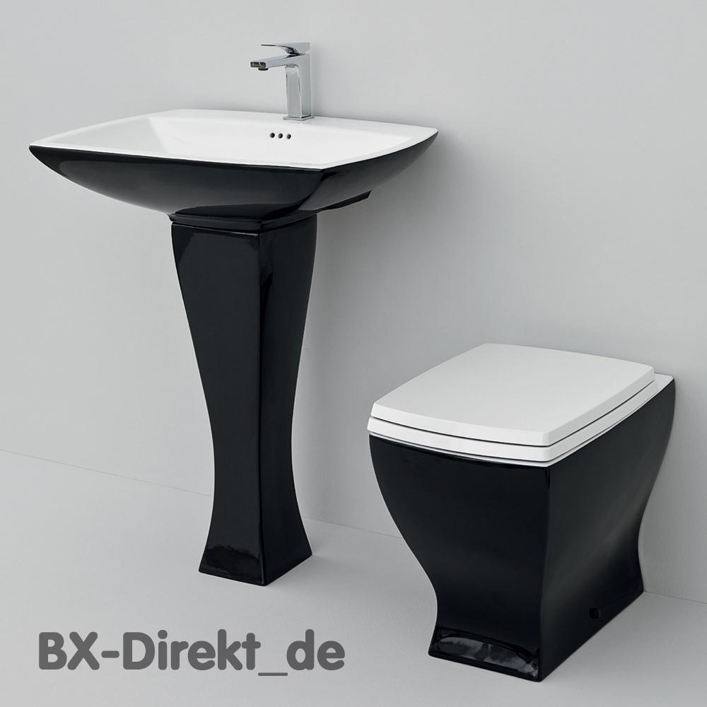 retro style waschtisch schwarz mit stands ule jazz vintage waschbecken. Black Bedroom Furniture Sets. Home Design Ideas