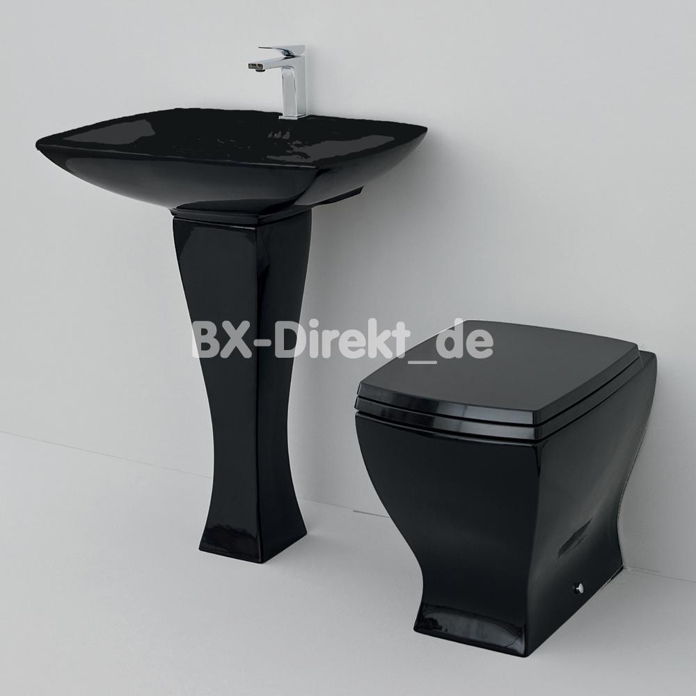 Schwarzes waschbecken jazz mit waschtischs ule retromodern for Schwarzes waschbecken