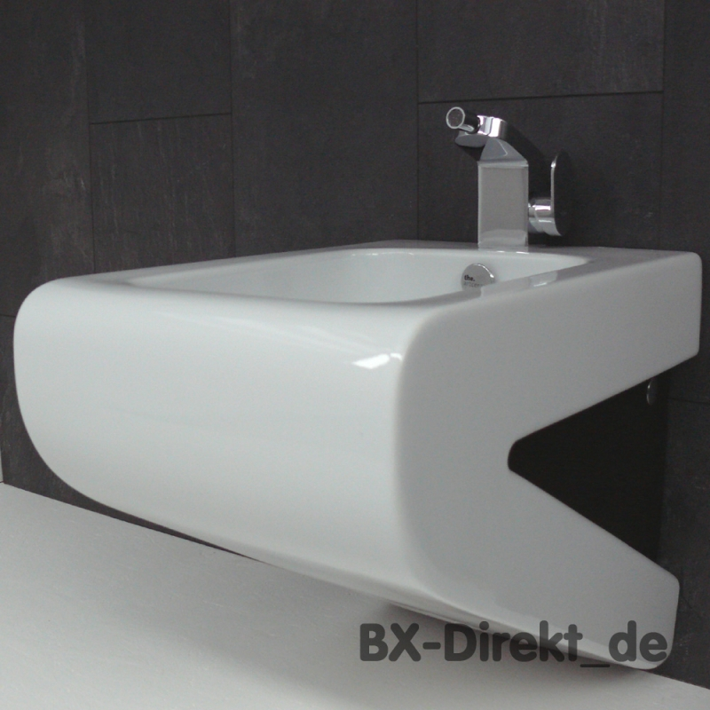 zweifarbiges lafontana designer bidet weiss schwarz. Black Bedroom Furniture Sets. Home Design Ideas