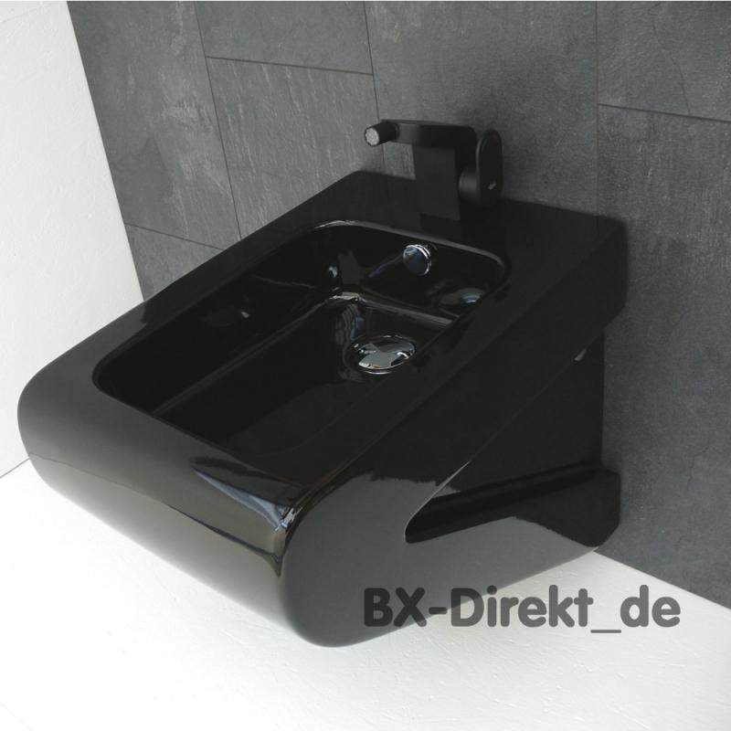 schwarzes Bidet LaFontana schwarz Designer Hänge-Bidet von Art Ceram