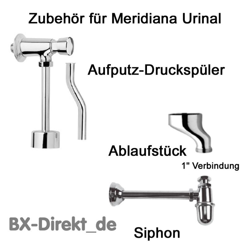 1 Siphon, passend für das Meridiana Urinal der Serie MERORURL38