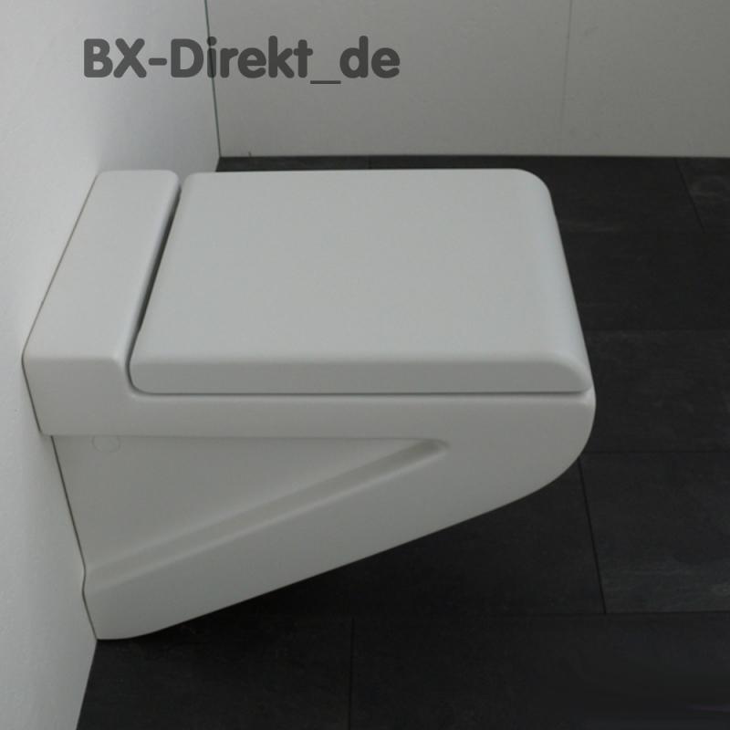 mattes Keramik WC LaFontana in edlem weiss matt von ArtCeram matte Oberfläche