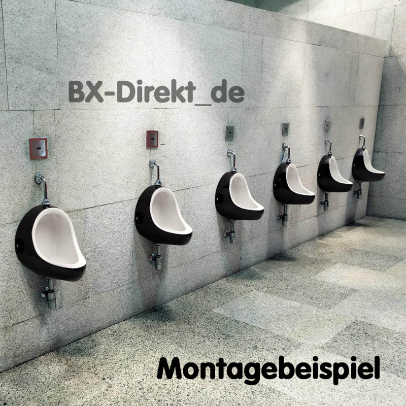 urinal im retrostyle designer pissoir mit globus dekor. Black Bedroom Furniture Sets. Home Design Ideas