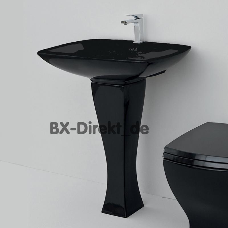 schwarzes waschbecken jazz mit waschtischs ule retromodern. Black Bedroom Furniture Sets. Home Design Ideas