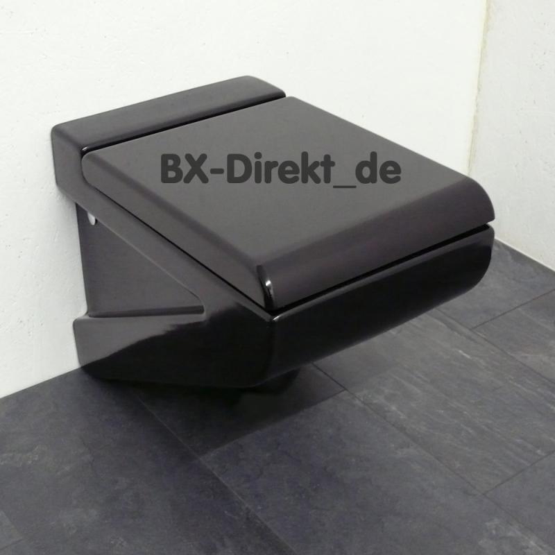 wc mit bidet in schwarz zum top preis original designer. Black Bedroom Furniture Sets. Home Design Ideas