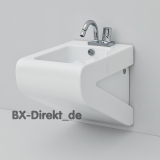 Bidet, Italian design in white LaFontana by ArtCeram Original Made in Italy