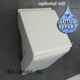 LaFontana ceramic pissoir also called nano urinal with lotus effect designer from Italy