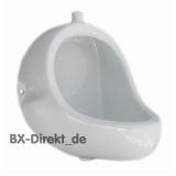 Ceramics urinal for wall-mounted pressure rinsing from Meridiana Italy