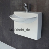 small ceramic washbasin the hand basin WALL MINI washbasin from Italy