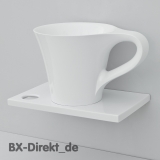 CUP washbasin with the design of a cup as a countertop washbasin ... the coffee cup from Italy