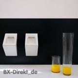 Designer Gastro-Urinal aus Keramik weisses Wandurinal Pissoir weiss Pinkelbecken