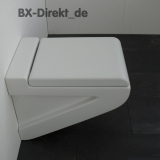 Ceramic WC LaFontana in matt white from ArtCeram matt surface