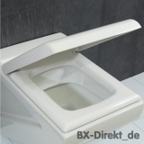Original LaFontana WC-Sitz in Weiß mit Softclose