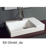 CUBIK washbasin by Meridiana Keramik, the designer countertop washbasin from Italy
