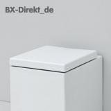 WC-Sitz in Weiss mit Softclose für das WC BLOCK von ArtCeram