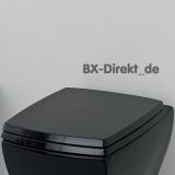 Softclose WC-Sitzfür das schwarze Vintage WC JAZZ von Art Ceram