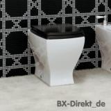 Retro Stand-WC aus italienischer Keramik im Vintage Look - Die Designer Toilette JAZZ