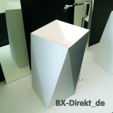 modern designer washbasin with geometric shapes as freestanding washbasin Sharp