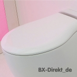 Original toilet seat for WC BLEND in white with Softclose by Art Ceram